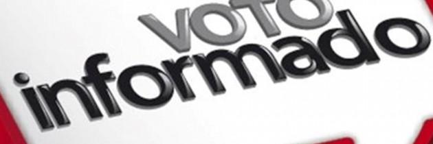 Vota de manera consciente e informada