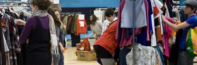 Intercambia ropa usada, haz un swap